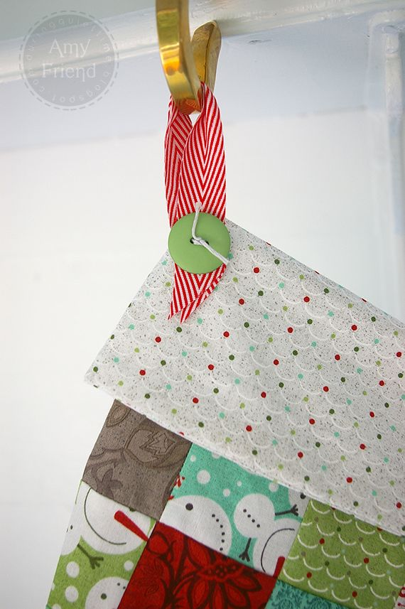Patchwork Christmas Stocking | Amy Friend