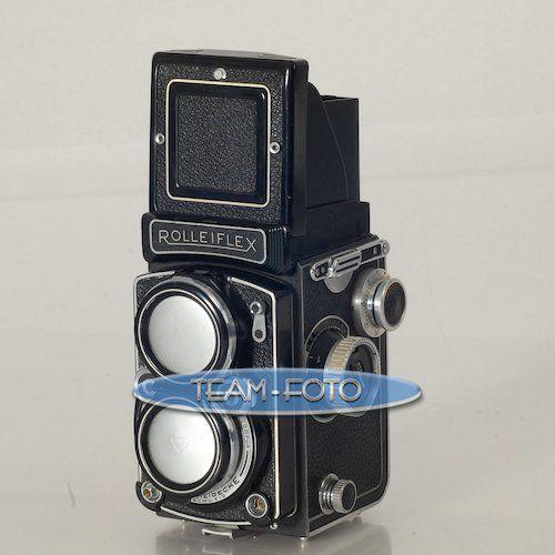 Rolleiflex 2,8C Mittelformatkamera mit Xenotar 2,8/80