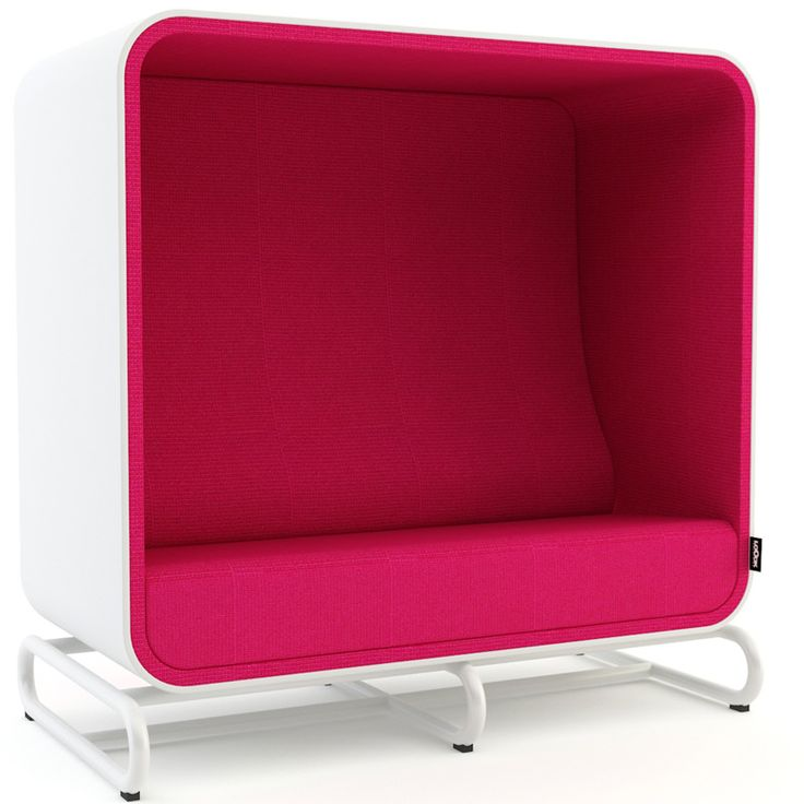 THE BOX SOFA The Box Sofa provides a quiet and visual isolation from ambient noise and movement.  Design: Gestranius & Lahtinen, Loook Industries