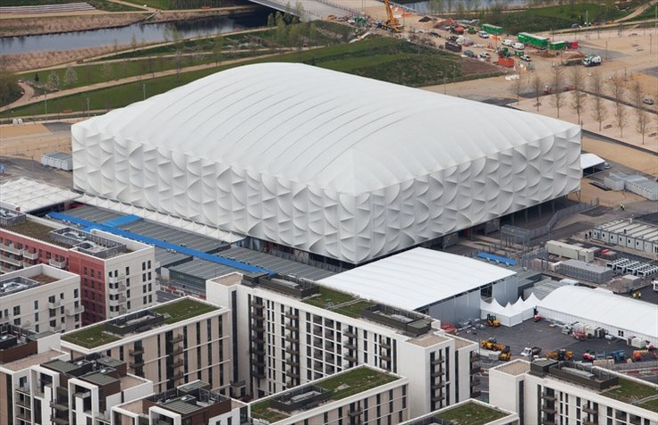 London 2012 Olympic Basketball Arena, by Wilkinson Eyre Architects #london2012 #olympicsgames #architecture