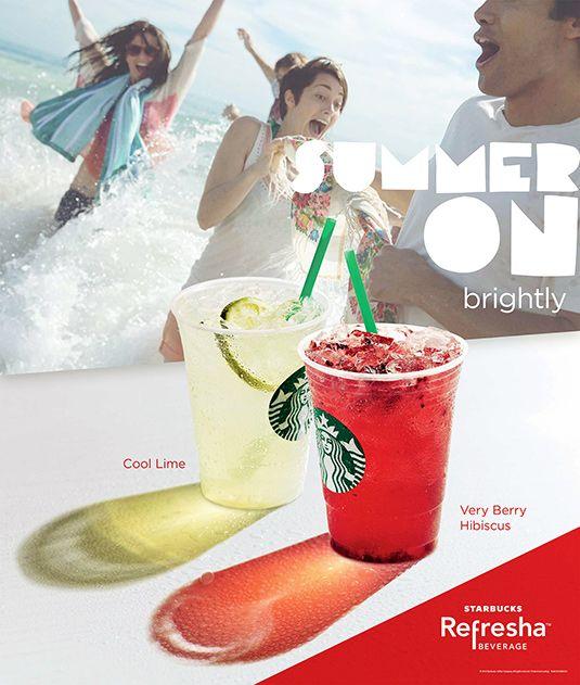 starbucks ad summer - Google Search