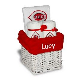 8 best cincinnati reds baby gifts images on pinterest personalized boston red sox small basket a 4 items boston red sox at designs by chad jake personalized baby gifts negle Image collections