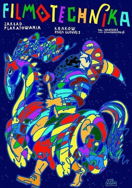 Leszek Zebrowski 'Filmotechnika - The Lajkonik' - Polish Poster, 2011
