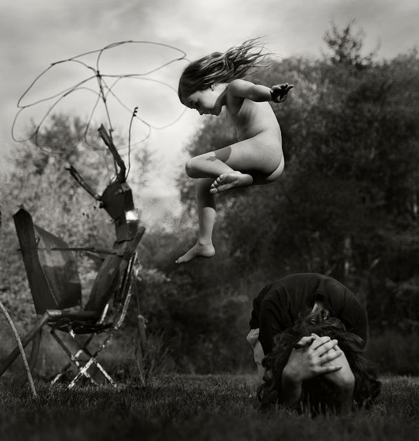 I am smitten with these pictures of an idyllic natural childhood (click through for NY Times piece on photographer Alain Laboile)