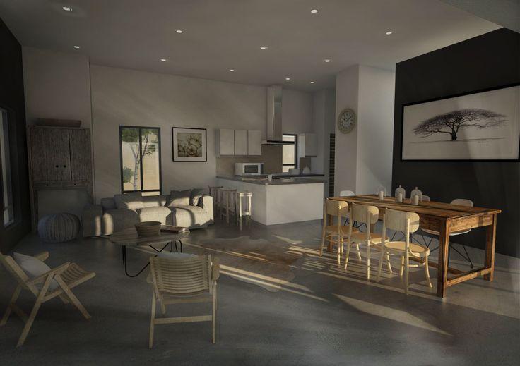 Interior render  for our Lifestyle Estate in Wolseley, Goedgevonden. www.goedgevonden.co.za
