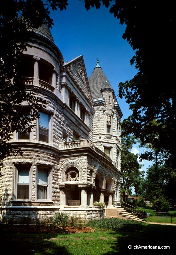 """The magnificent """"Conrad's Folly,"""" the Theophilus T Conrad house, was built in 1893-95."""