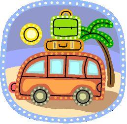 summer travel vacation clip art clip art summer travel clip art retro travel clip art for gift certificate