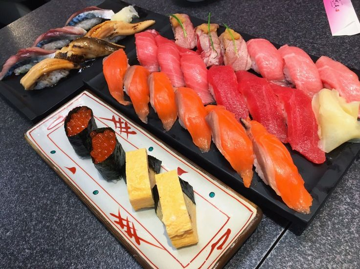 Fresh Sushi from Tsukiji Fishmarket
