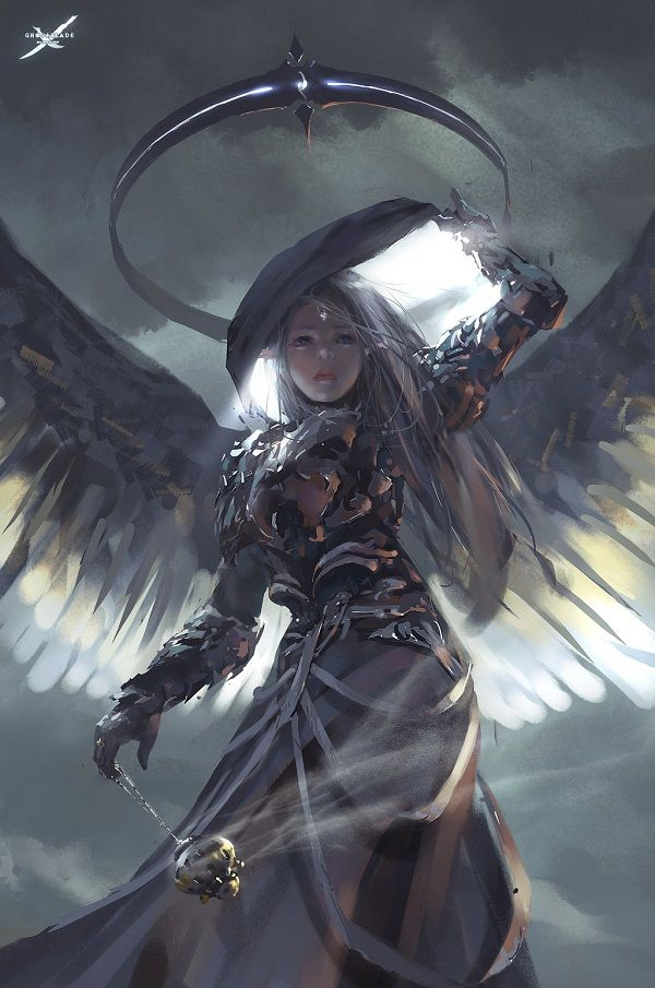 light_by_wlop - Digital Paintings by Wang Ling