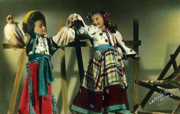 In costume messicano