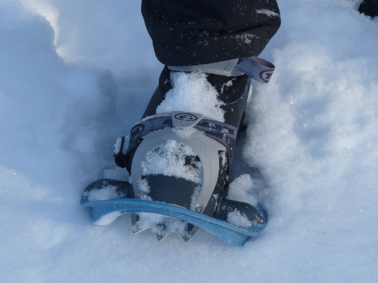 Snow shoes allow you to go everywhere