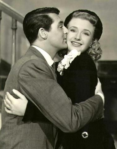 Cary Grant and Priscilla Lane - Arsenic and Old Lace
