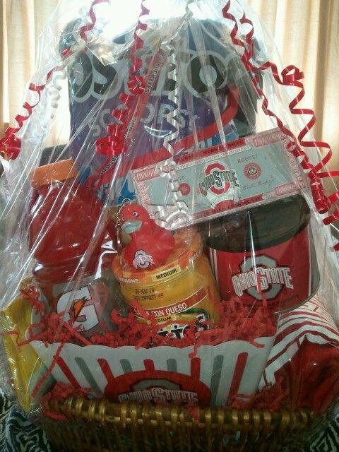 Ohio Raffle State Gift | Ohio basket, state gift Basket