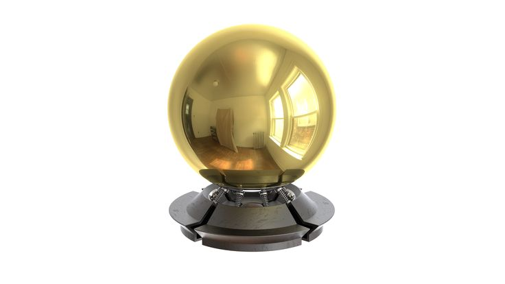Gold material  Free V-Ray material download