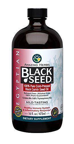 Amazing Herbs Egyptian Black Seed Oil, 16 Fluid Ounce #Amazing #Herbs #Egyptian #Black #Seed #Oil, #Fluid #Ounce