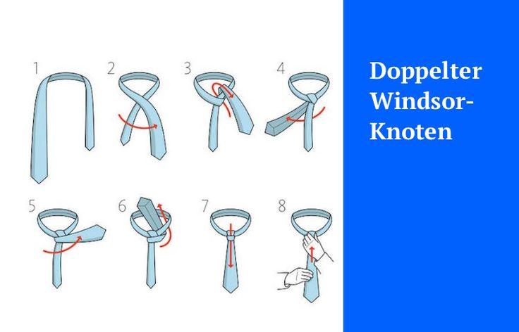 die besten 25 windsor knoten binden ideen auf pinterest windsor anzug windsor. Black Bedroom Furniture Sets. Home Design Ideas