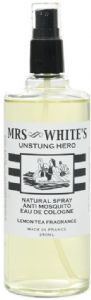 Mrs White's 'Unstung Hero' Natural Mosquito Repelling Eau de Cologne – 250ml | Roullier White