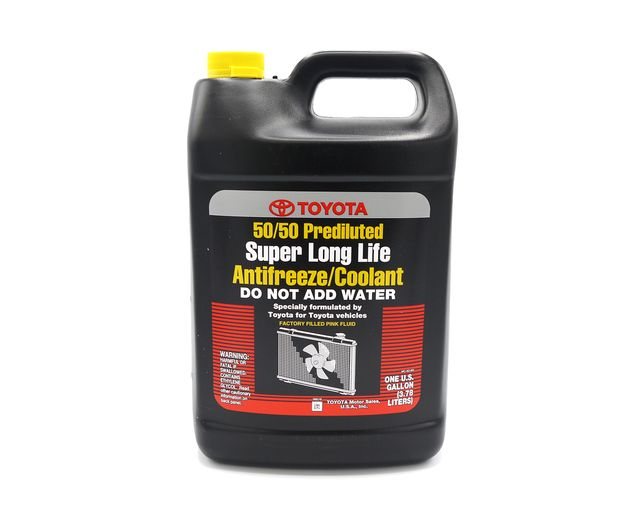 Toyota Super Long Life Antifreeze Coolant 50 50 Prediluted