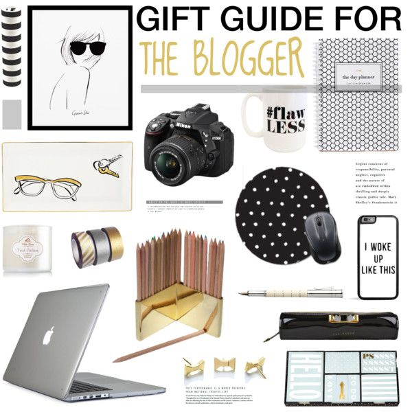 """""""Gift Guide For The Blogger"""" by emmy on Polyvore"""