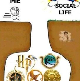 Story of my life... On a side note does anybody else see Leo Valdez from The Heroes of Olympus series off to the side of the chasm of my life?