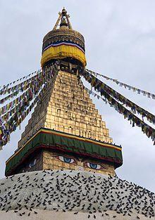 Tibetan Buddhism~Bodhnath Stupa, Kathmandu, Nepal
