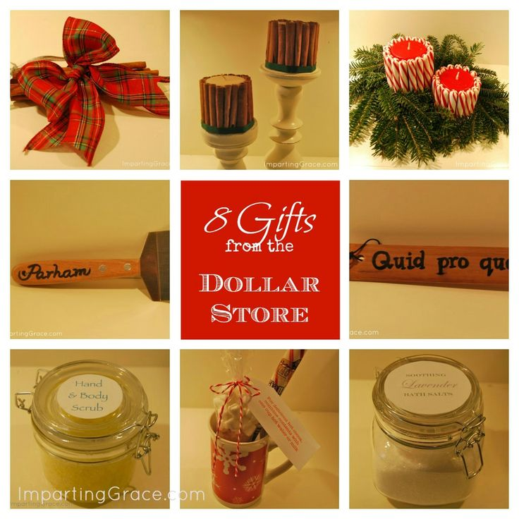 Dollar Tree Christmas Decor And Gift Ideas: Imparting Grace: 8 Gifts Made With Items From The Dollar