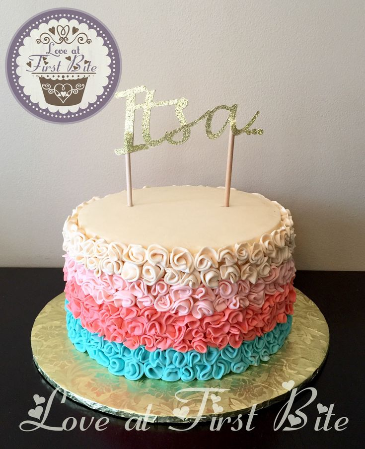 Best 20+ Gender Reveal Cakes ideas on Pinterest Baby ...