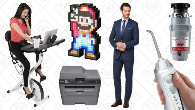 Fridays Top Deals: Custom-Tailored Suits Printers WaterPiks and More
