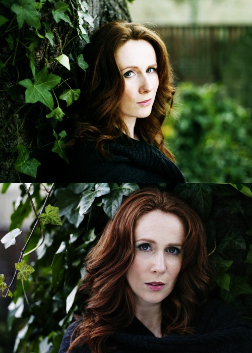 Catherine Tate... I aspire to be just like her. I'm just not ginger :(