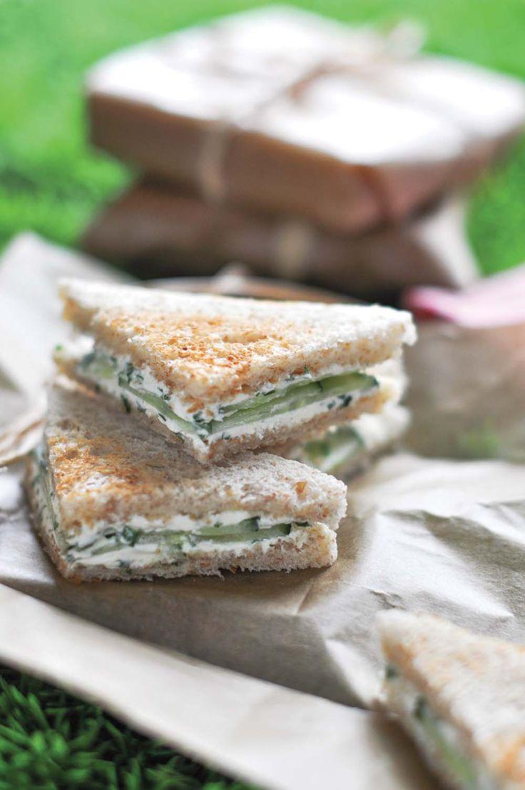 Club sandwich concombre fromage frais - Ôdélices : Recettes de cuisine faciles et originales !