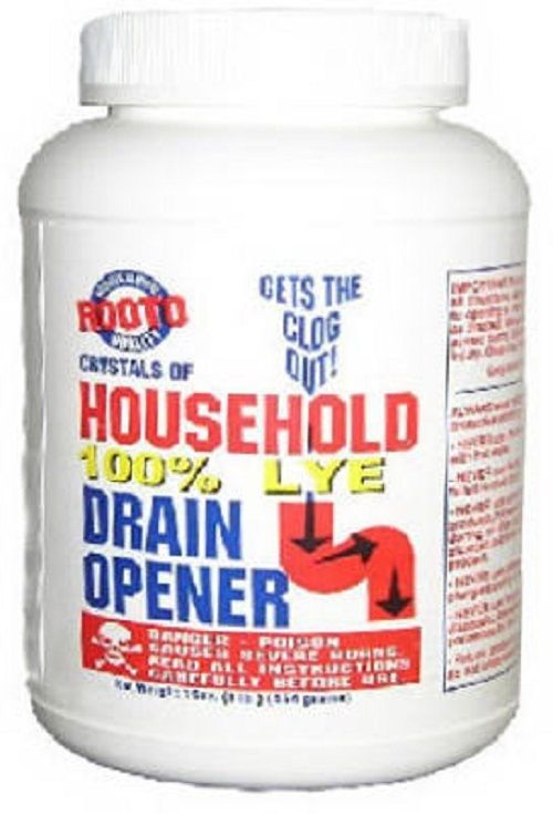 Rooto Corporation 1030 Crystals of Household Lye Drain Opener 1 LB  http://searchpromocodes.club/rooto-corporation-1030-crystals-of-household-lye-drain-opener-1-lb-6/