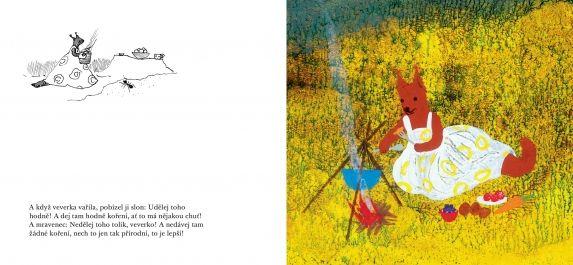 Slon a mravenec | české ilustrované knihy pro děti | Baobab Books