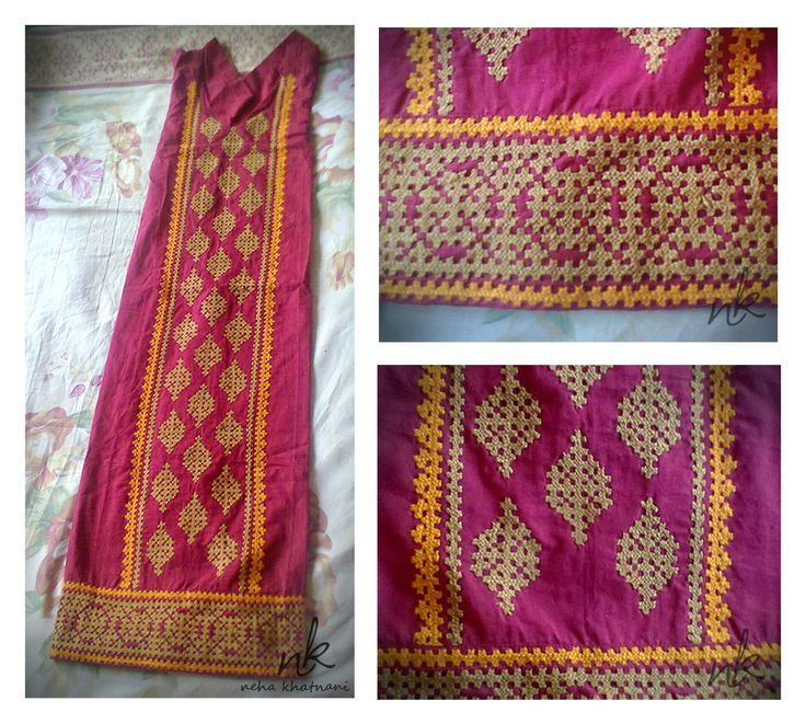#Kutch #Work #Embroidery Visit My FB Page : www.facebook.com/CreativityLoungeLetsBeCreative