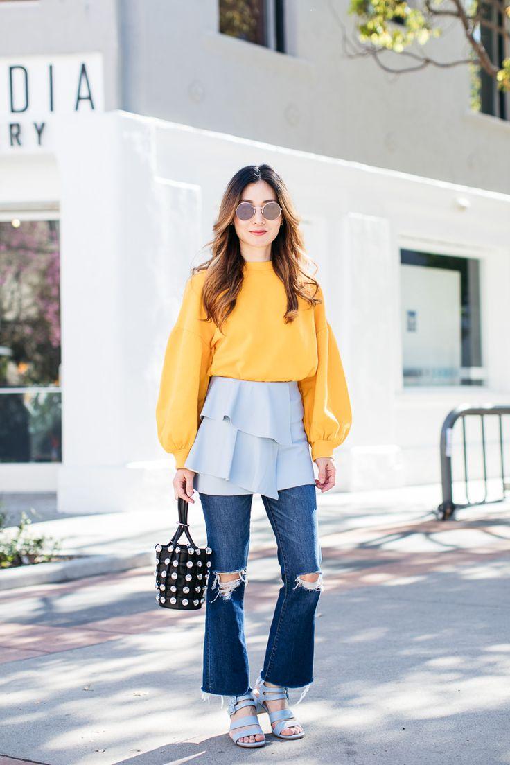 Stylewich by Elizabeth Lee, Fashion Blogger, Outfit Ideas, Style Inspiration, Spring Fashion, Alexander Wang Mini Roxy Bag, Marais USA Jardin Heels