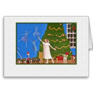 Nutcracker Ballet Blank Note or Greeting Card