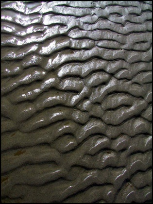ripples in sand .