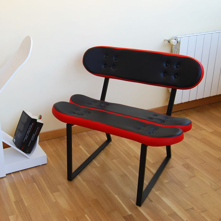The Skateboard Chair Is Comfortable And Just The Right Size For Children To  Use To Sit