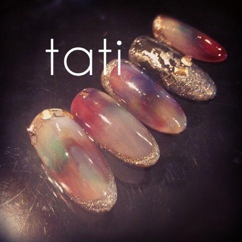 「 クリーミーフラワー 」の画像|t a t i ~京都よりオトナのためのネイルを発信~|Ameba (アメーバ)