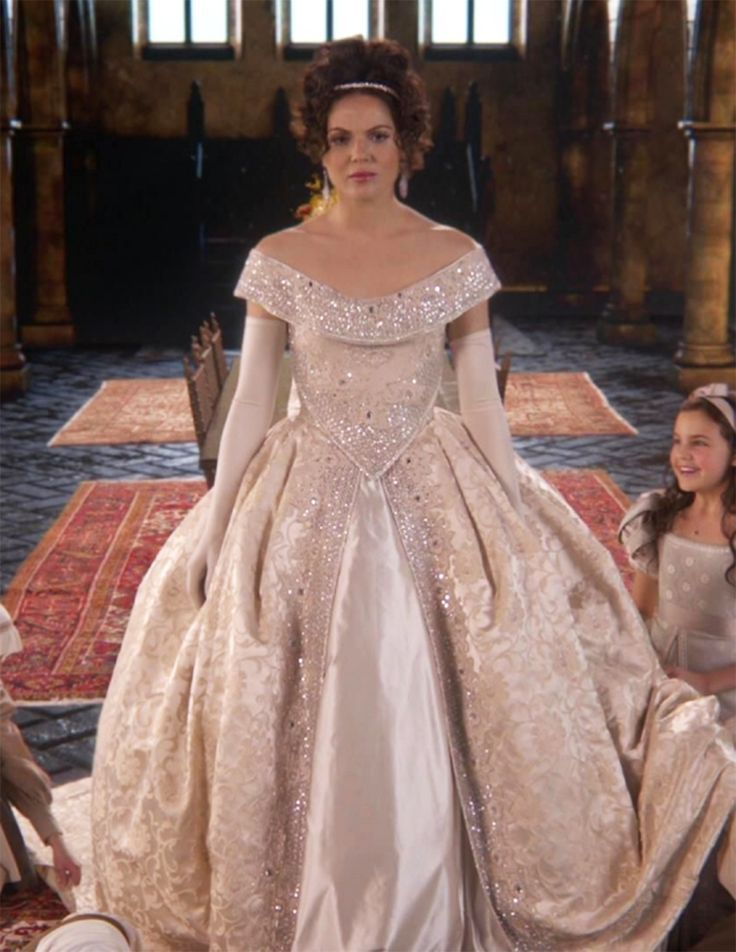 17 best images about once upon a time on pinterest hook for Snow white wedding dress once upon a time
