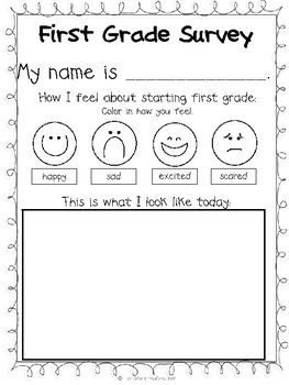 Fun with Firsties! {Back to School for First Grade}