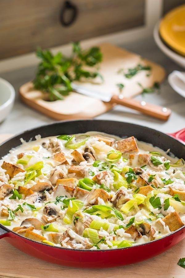 Gerichte mit tofu