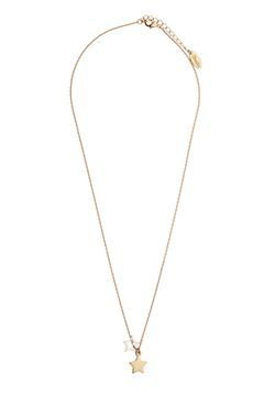**Double Star Pendant Necklace by Orelia