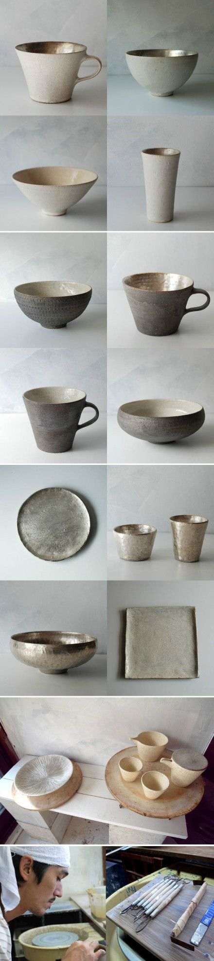 Be it bowls, vases or art, ceramics are in trend for 2015. Japanese Ceramics by barefootstyling #Ceramics