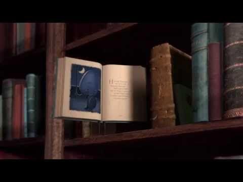 "On our Book Bench blog, Andrea DenHoed on ""The Fantastic Flying Books of Mr. Morris Lessmore."""