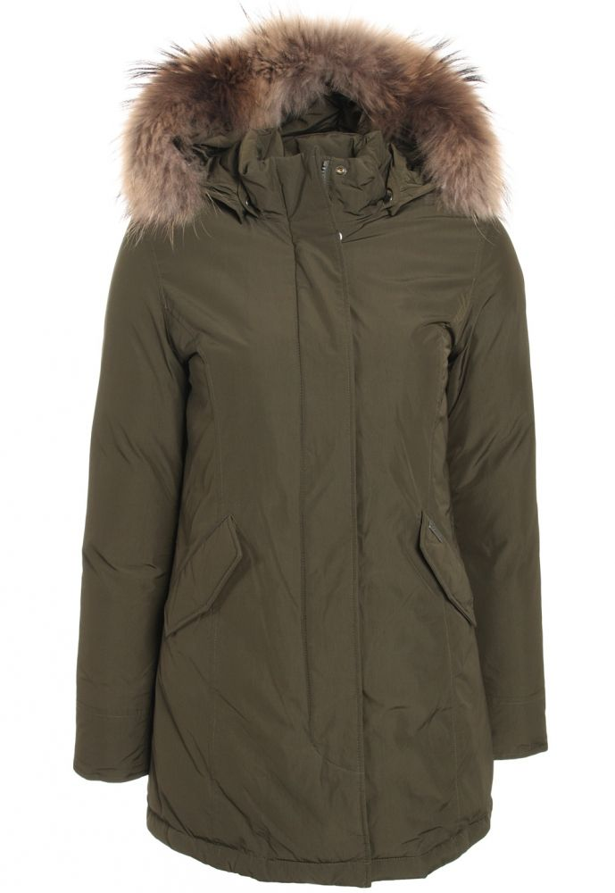 Luxury Arctic Parka in olive