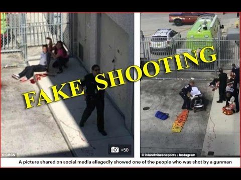 SHOOTING HOAX BUSTED - Fake Ft Lauderdale Airport Victim