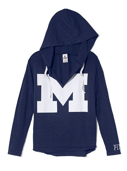 University of Michigan Vintage Tunic Hoodie |