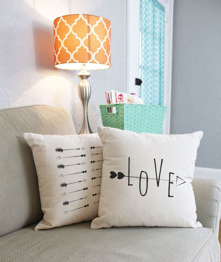 Hearts and Arrows Throw Pillows & 115 best Love Inspired Decorating Ideas images on Pinterest ... pillowsntoast.com