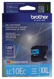 Brother - LC10EC High-Yield Ink Cartridge - Cyan (Blue)