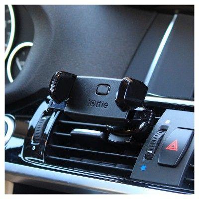 iOttie Easy One Touch Mini Vent Universal Car Mount Holder, Black
